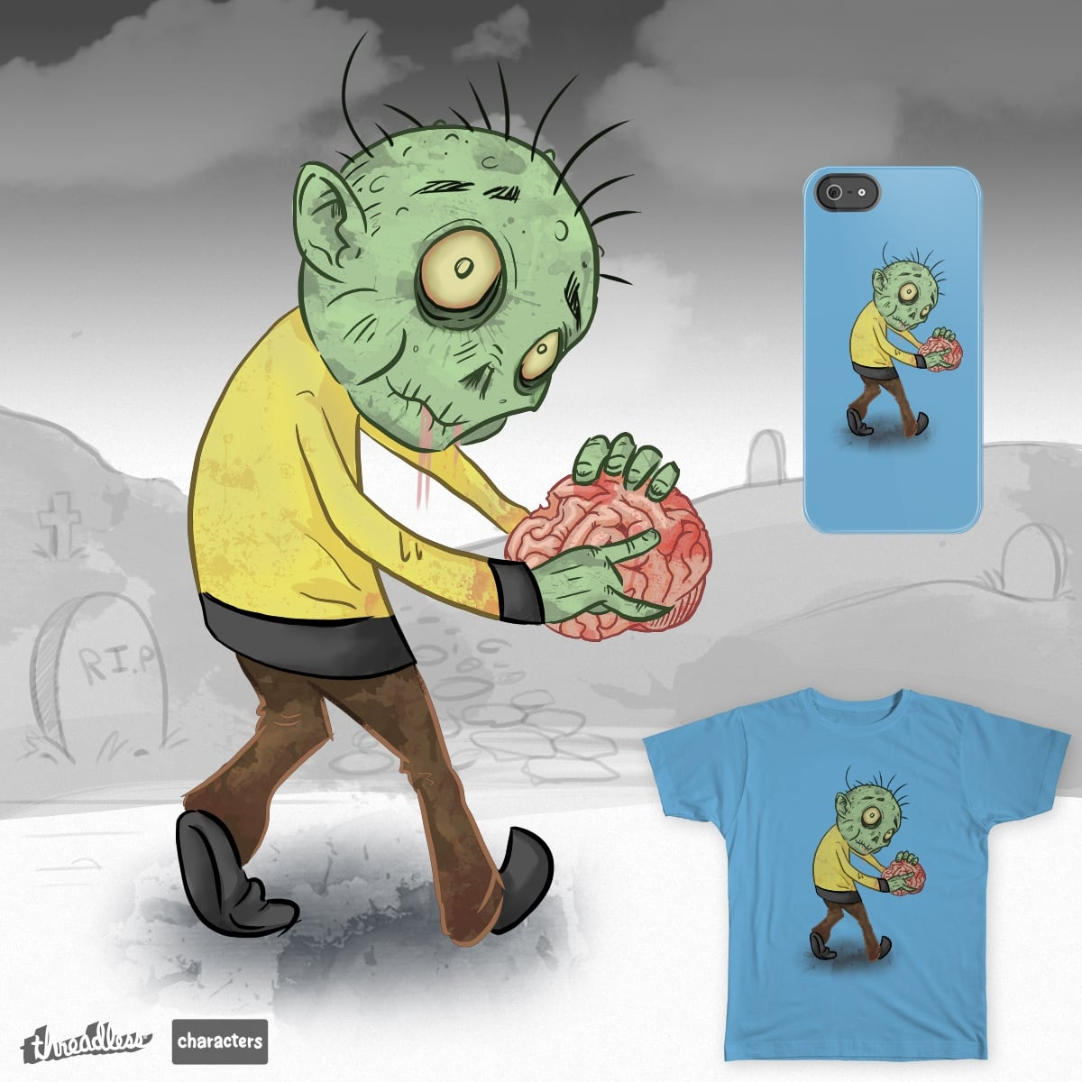 Abbot by timothy Jones on Threadless