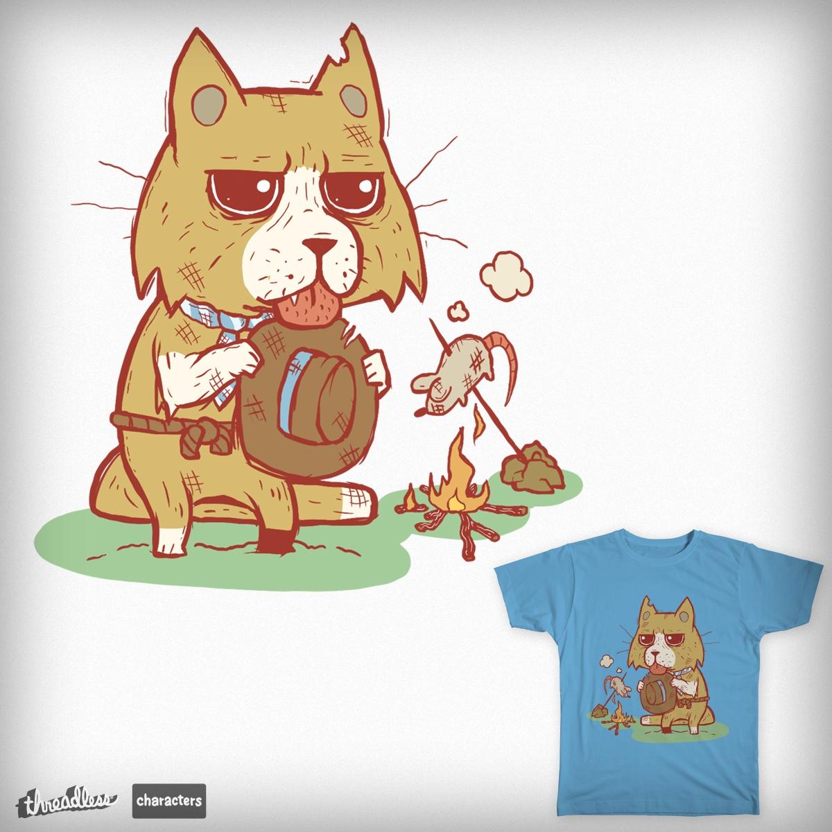 Hobo cat by Buguwa on Threadless