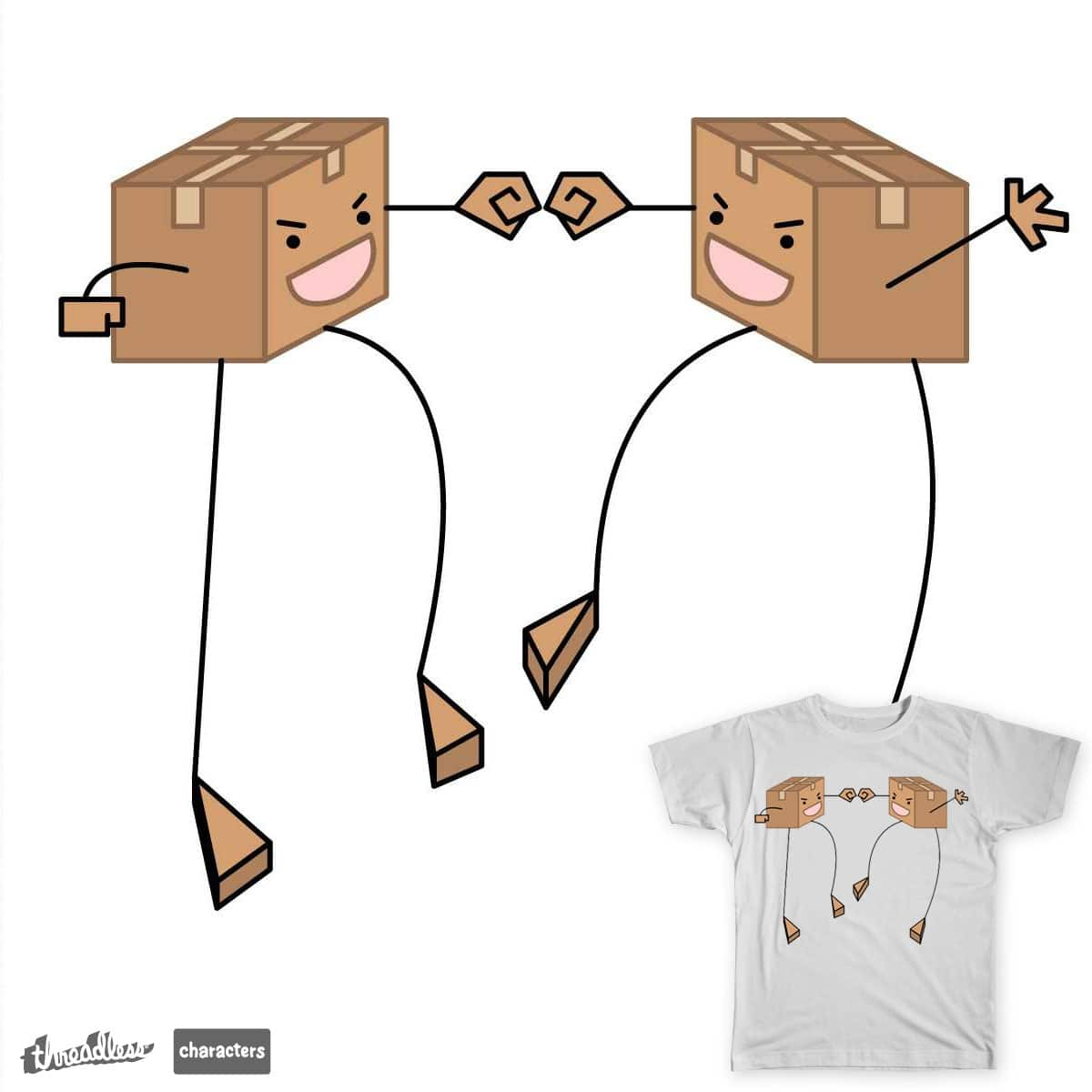 The Box Bros! by samantu on Threadless
