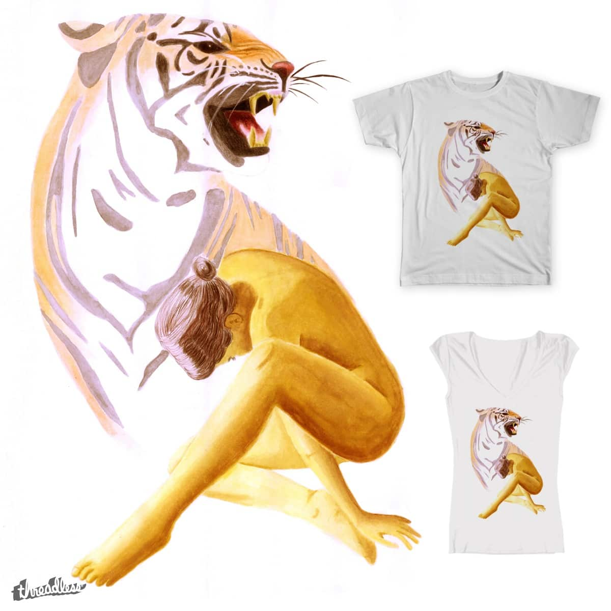 Inner Tiger by tabysays on Threadless