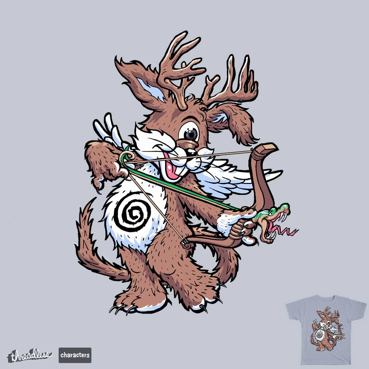 spirit of  the forest by choubaka360 on Threadless