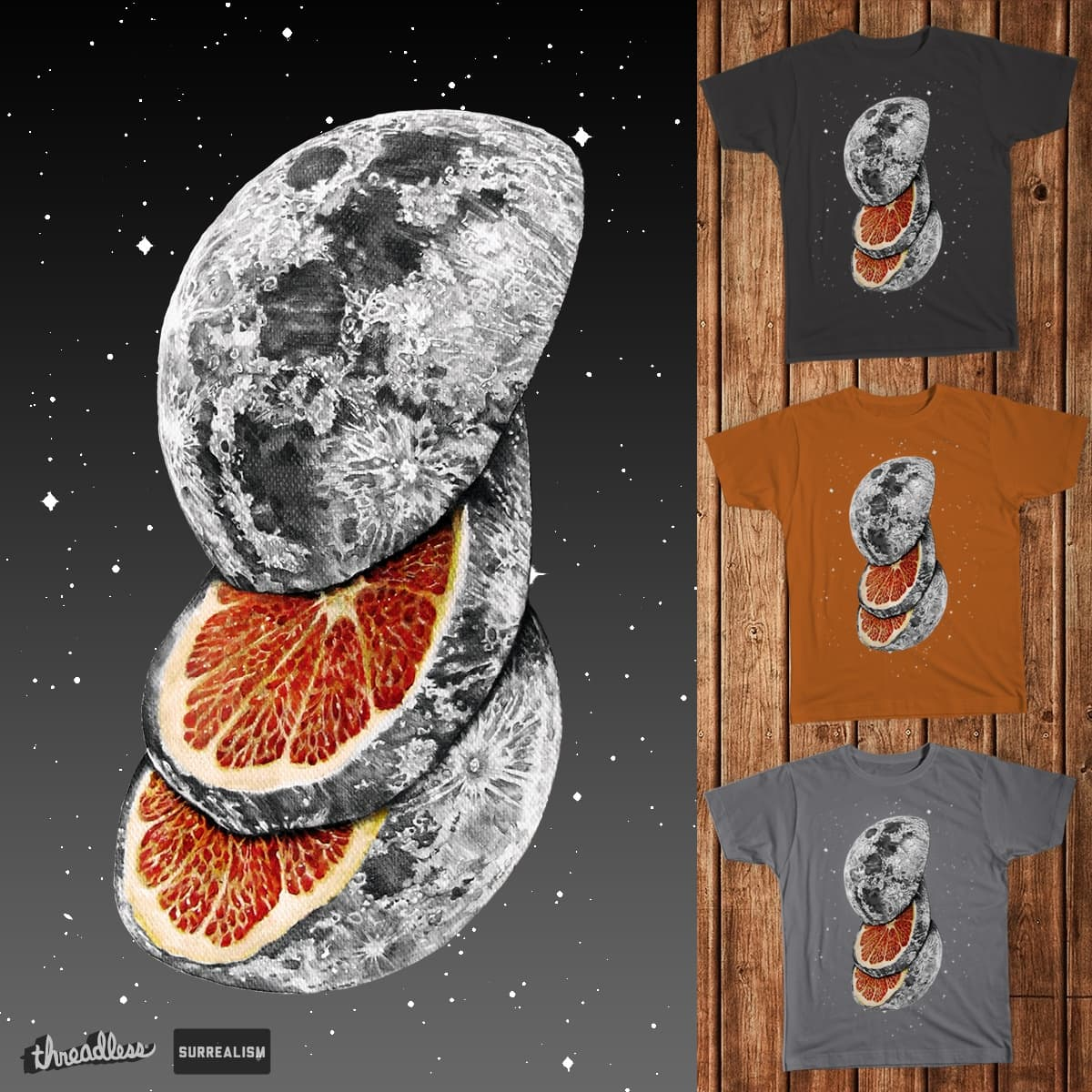 Citrus Moon by ennui du fromage on Threadless