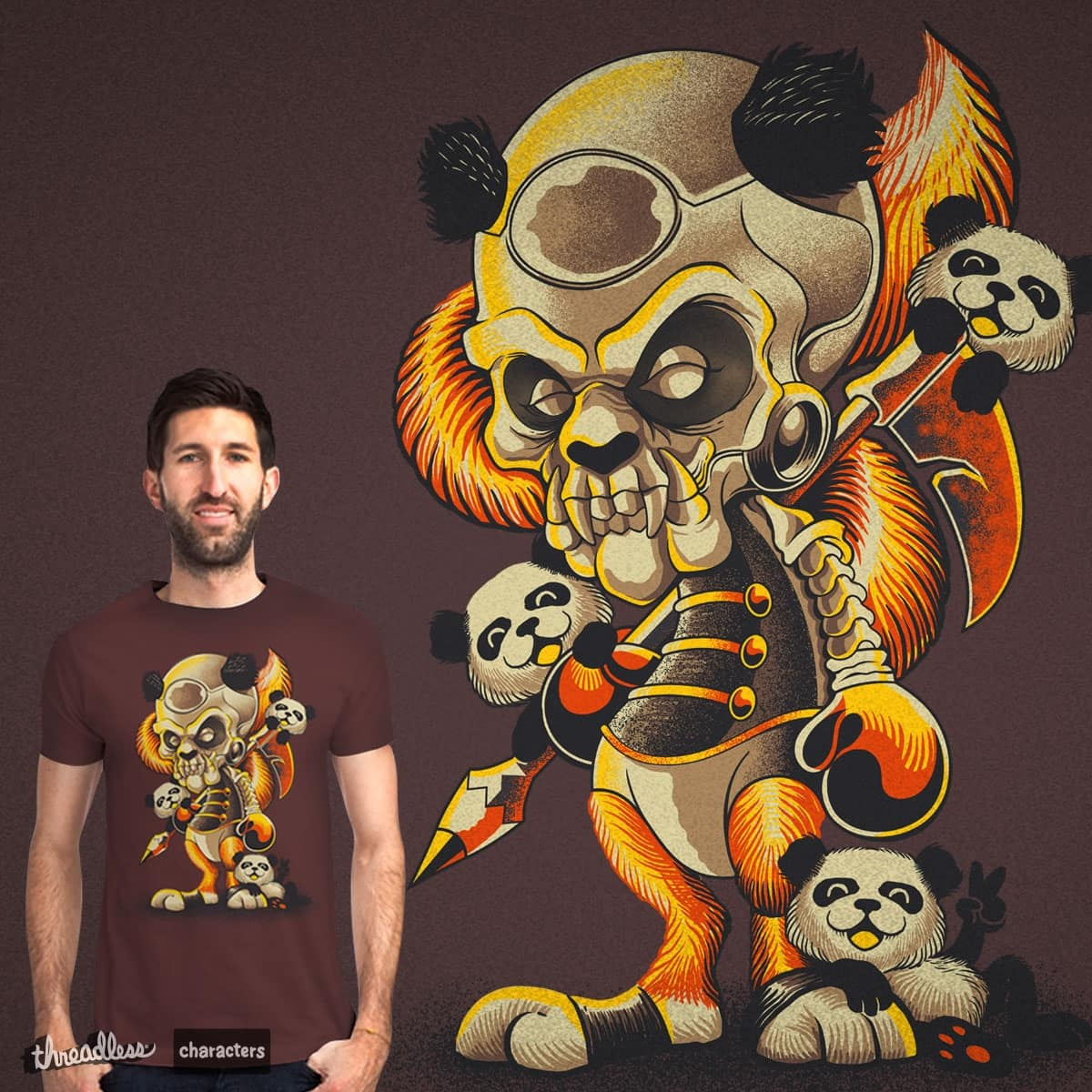 Foxy PanDaemoniac by bogielicious on Threadless