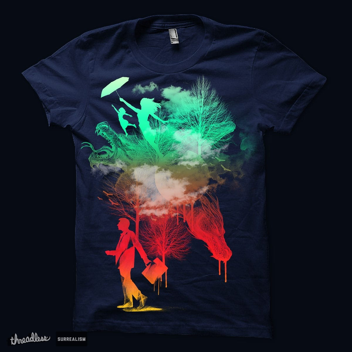 """Walk Through Fantasy"" by Agimat ni Ingkong on Threadless"