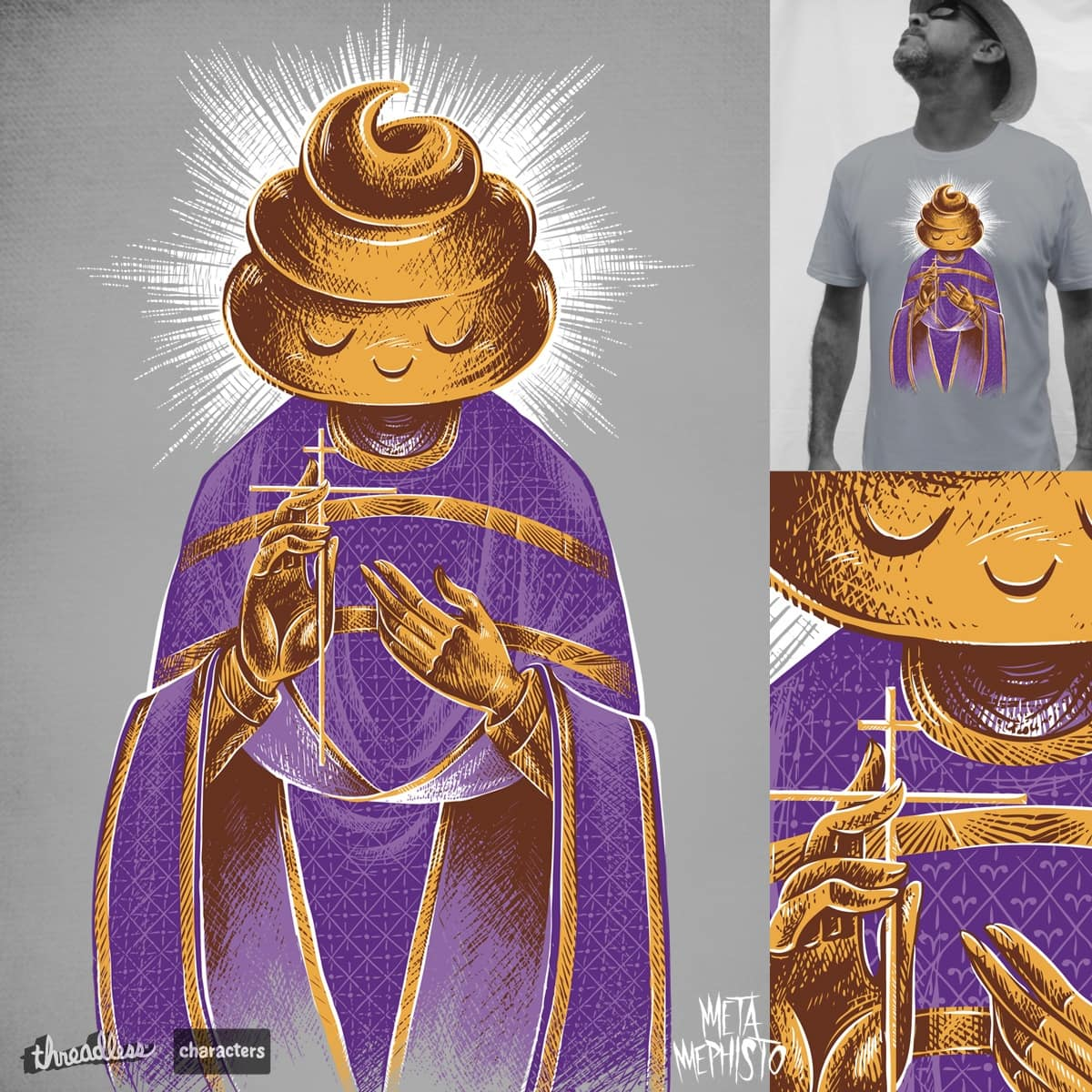 The Holy Sh*t by MetaMephisto on Threadless