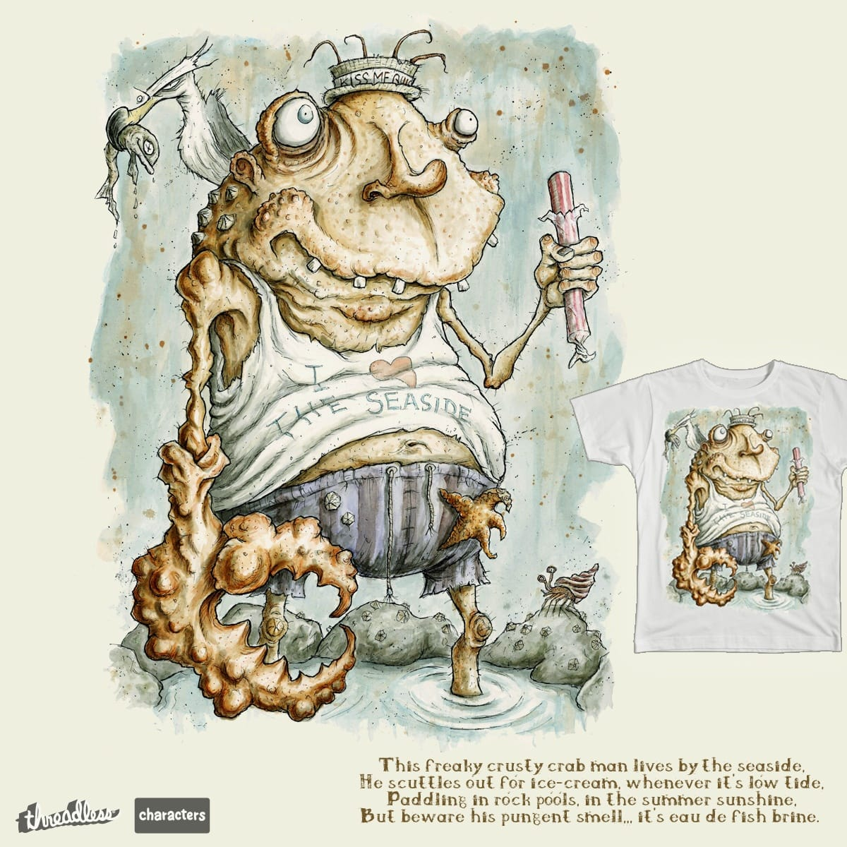 Claude Pincher by PickledCircus on Threadless