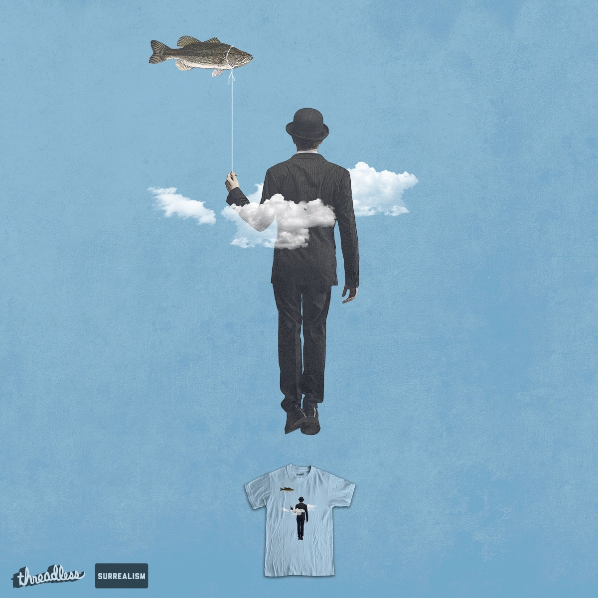 fly fishing by jerbing33 on Threadless