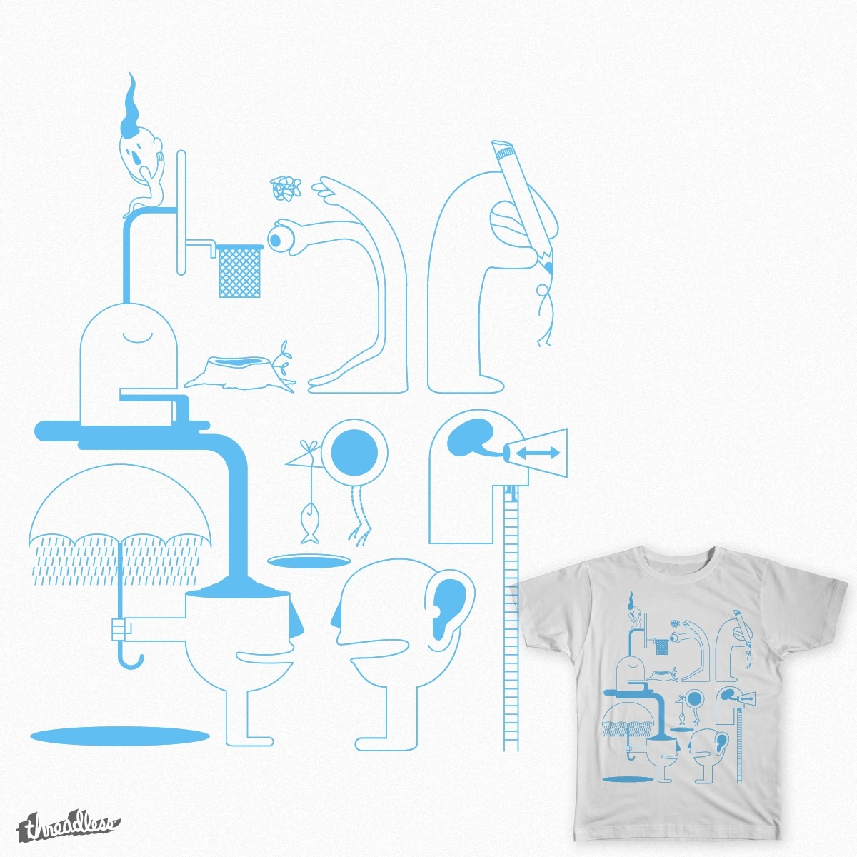 Nature & Life by Cavity on Threadless