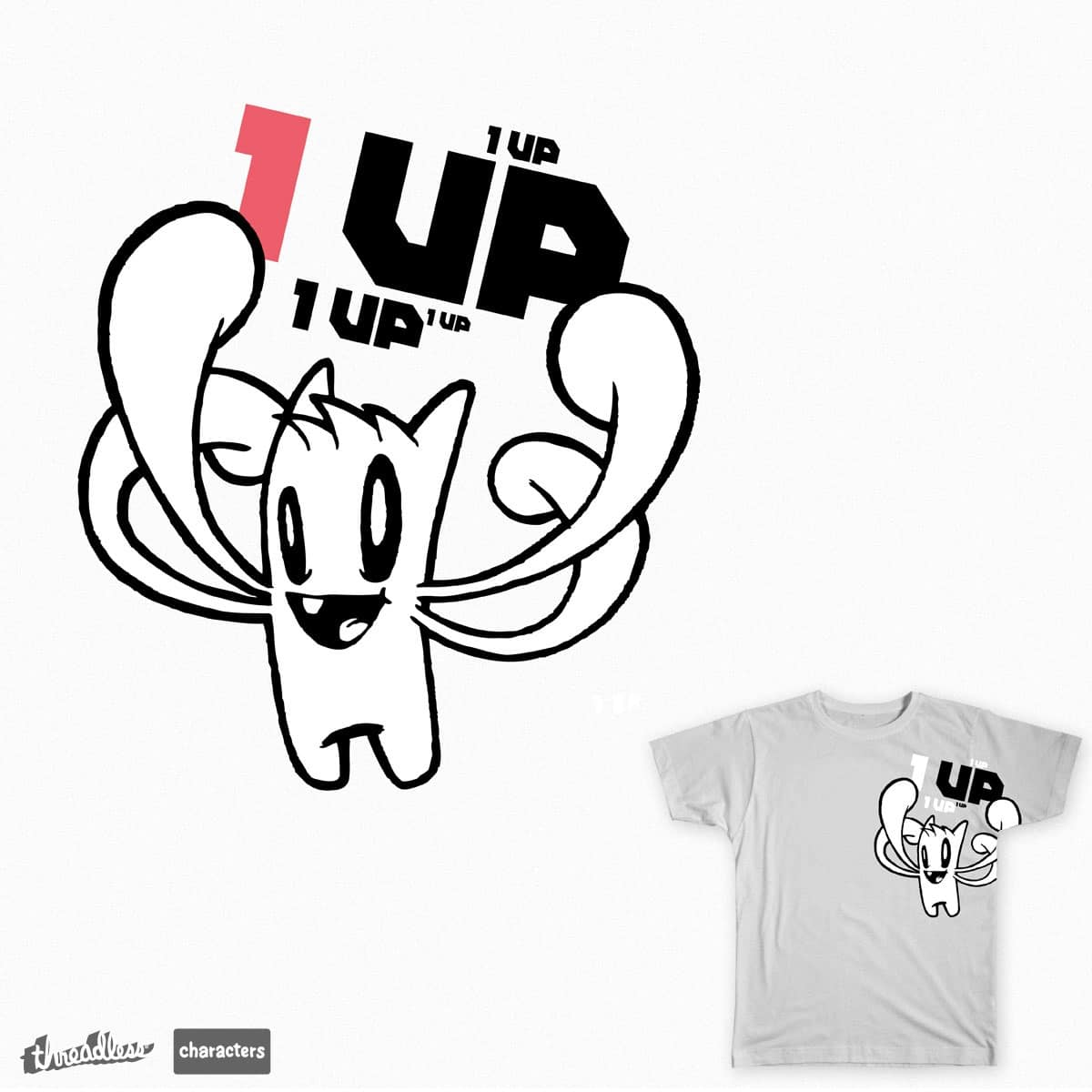 1up by ghostjunk on Threadless