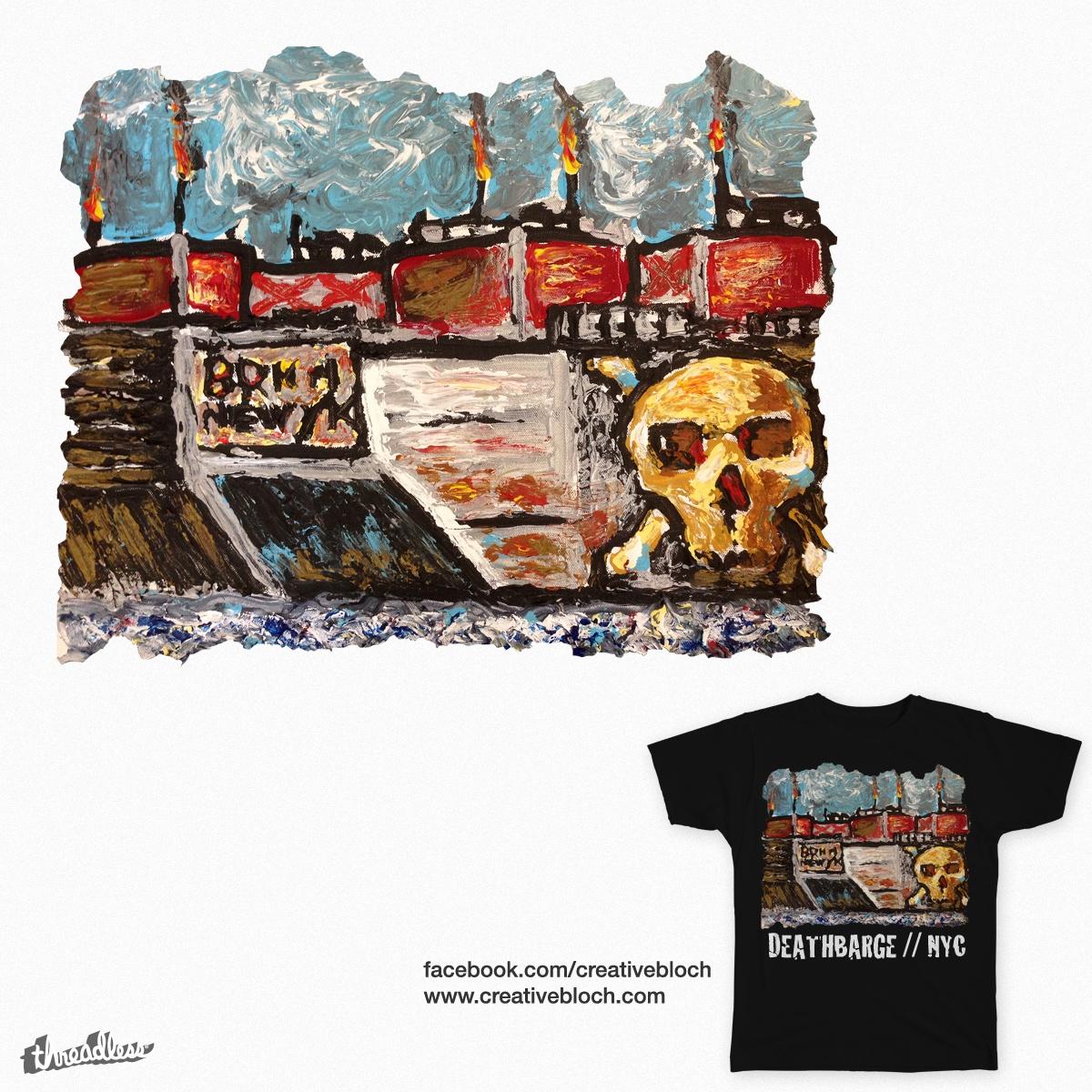 DEATHBARGE NYC by creativebloch on Threadless