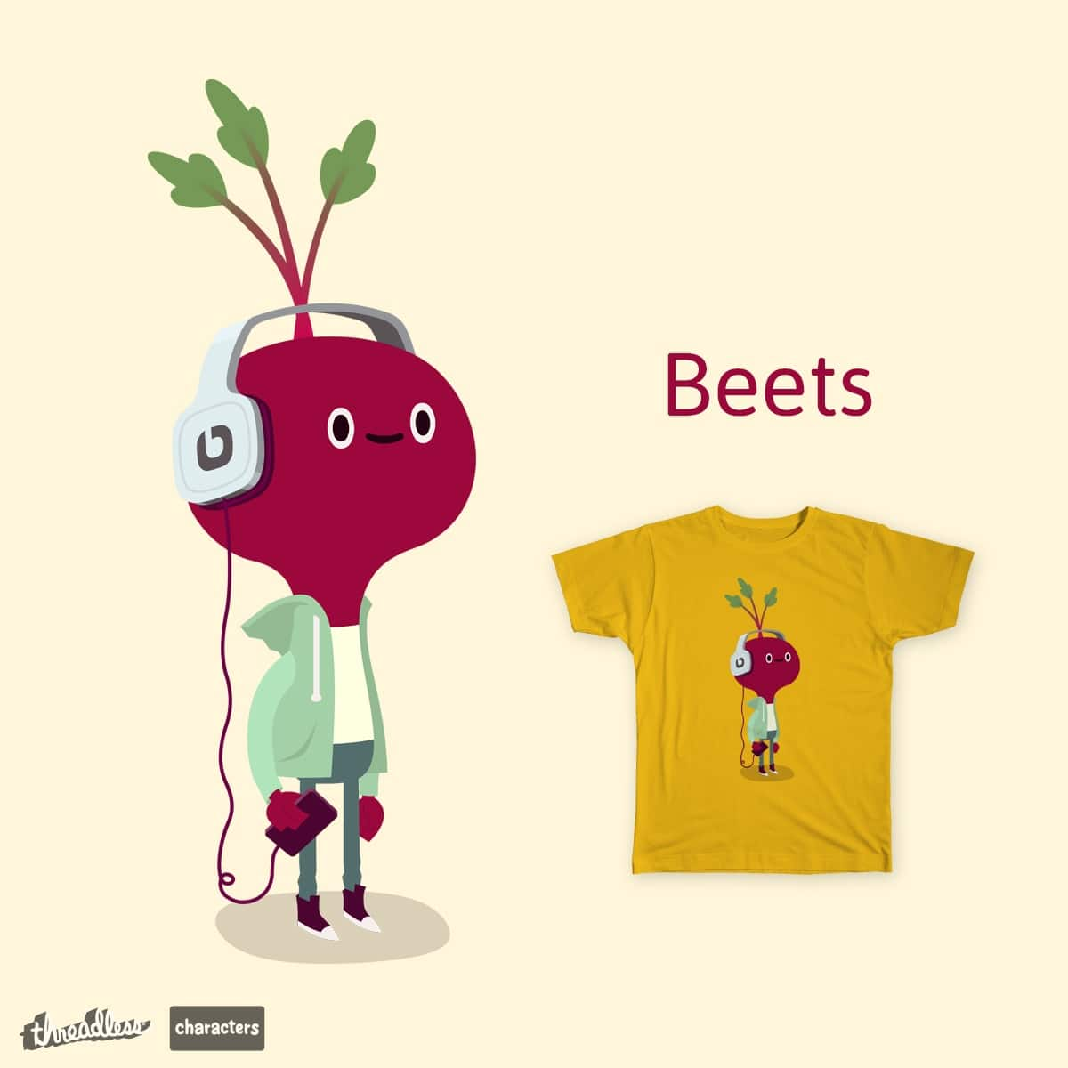 Beets by ALEJANDR0ID on Threadless