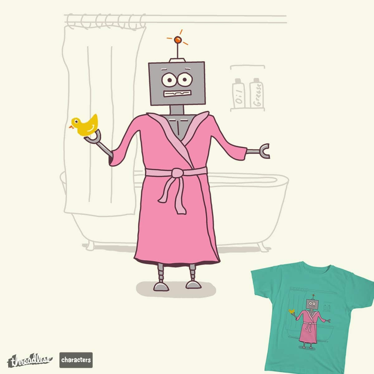 Robe-ot by AnthonyMoore on Threadless