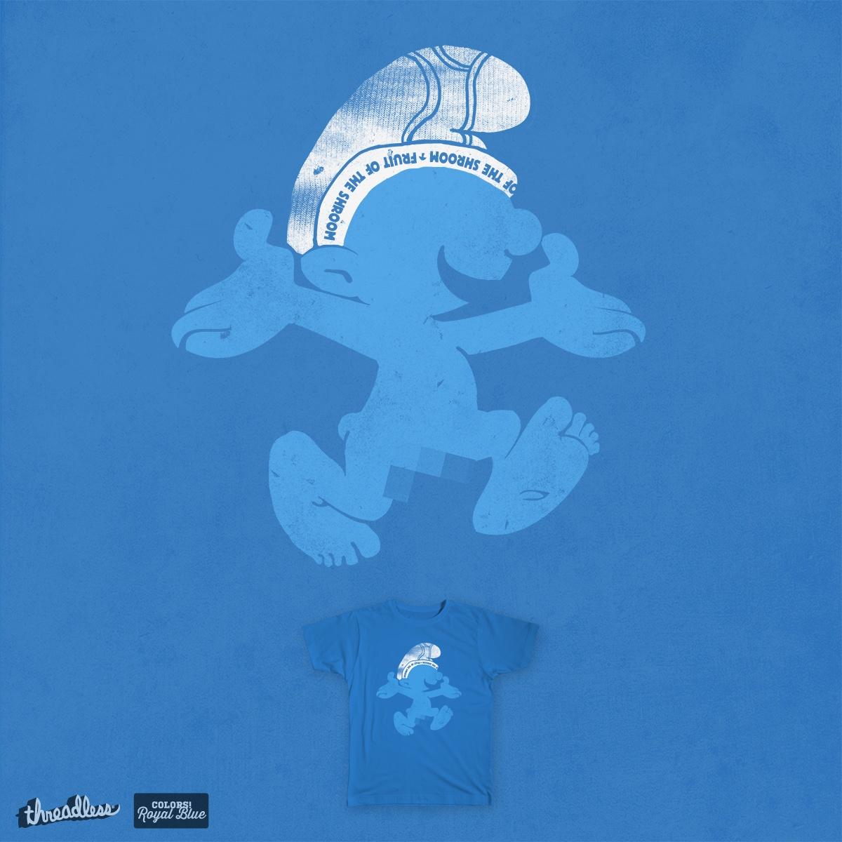 krazy blue  by jerbing33 on Threadless