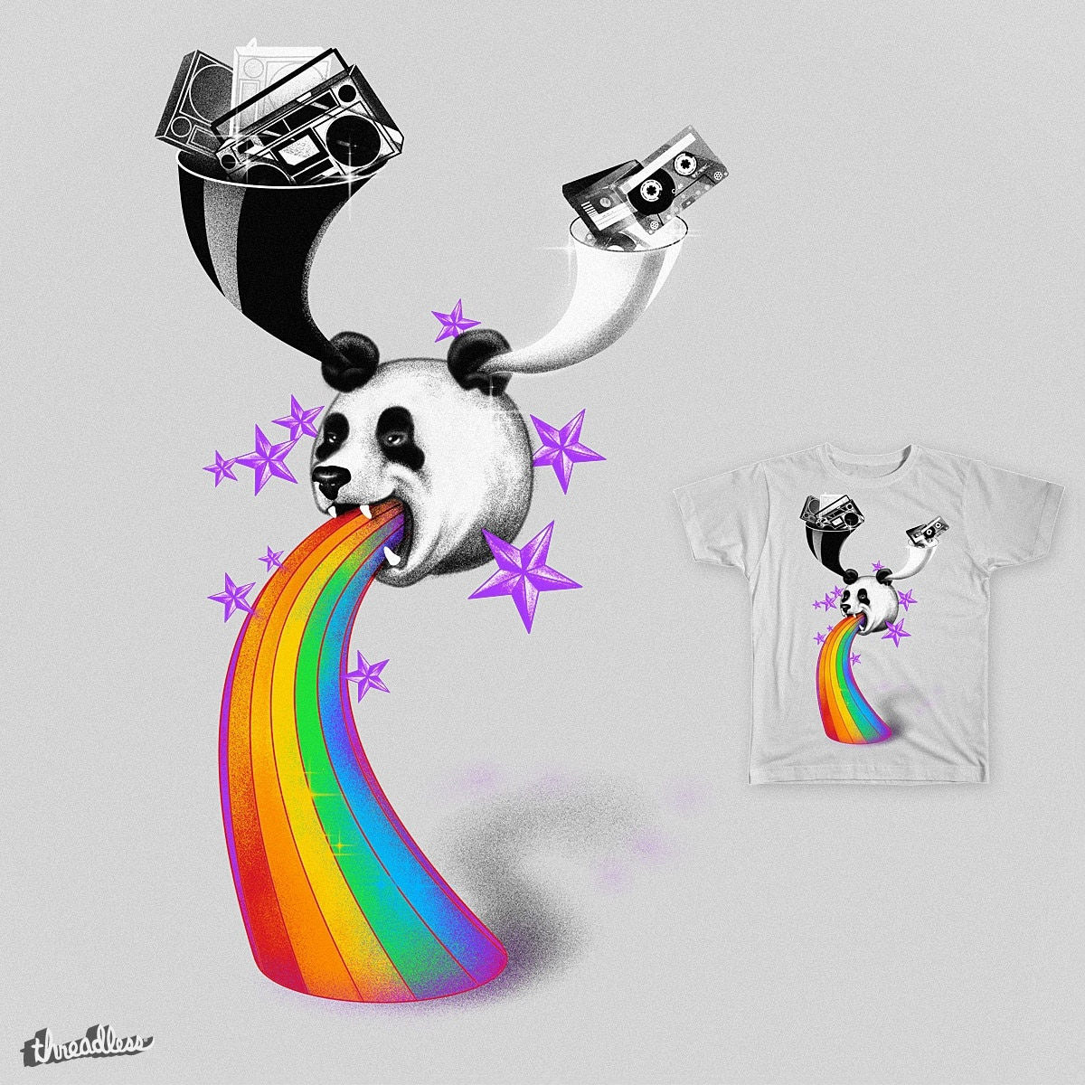 Recycling Panda by 38Sunsets on Threadless