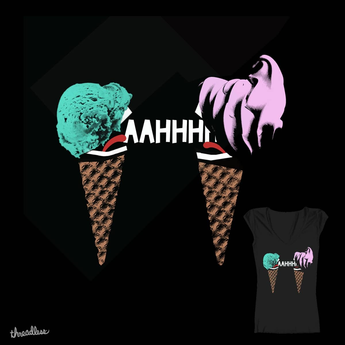 Ice scream by soheerelevant on Threadless