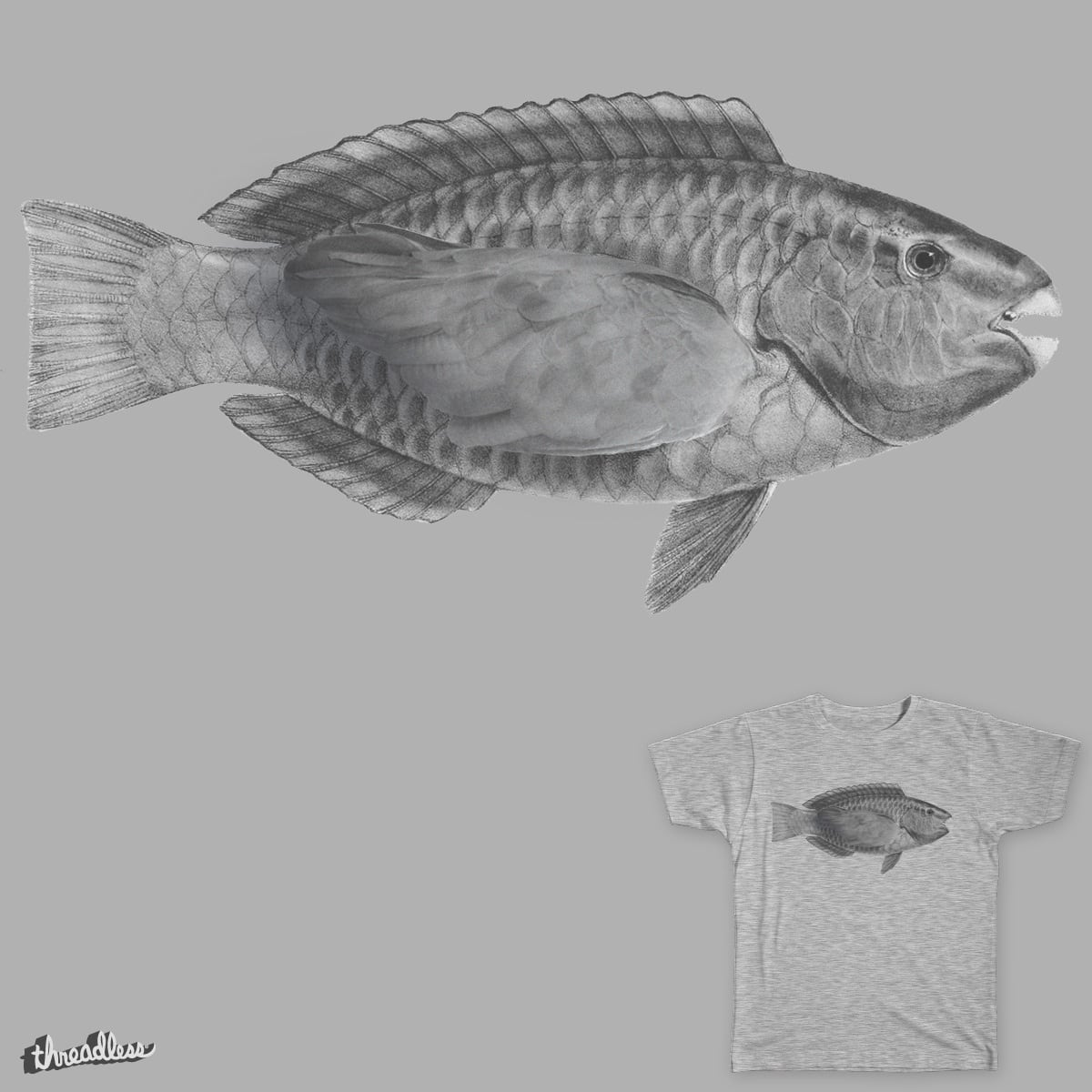 Parrotfish by Cavity on Threadless