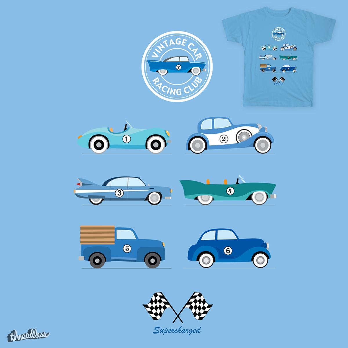 Vintage Car Racing Club by MylesArt on Threadless