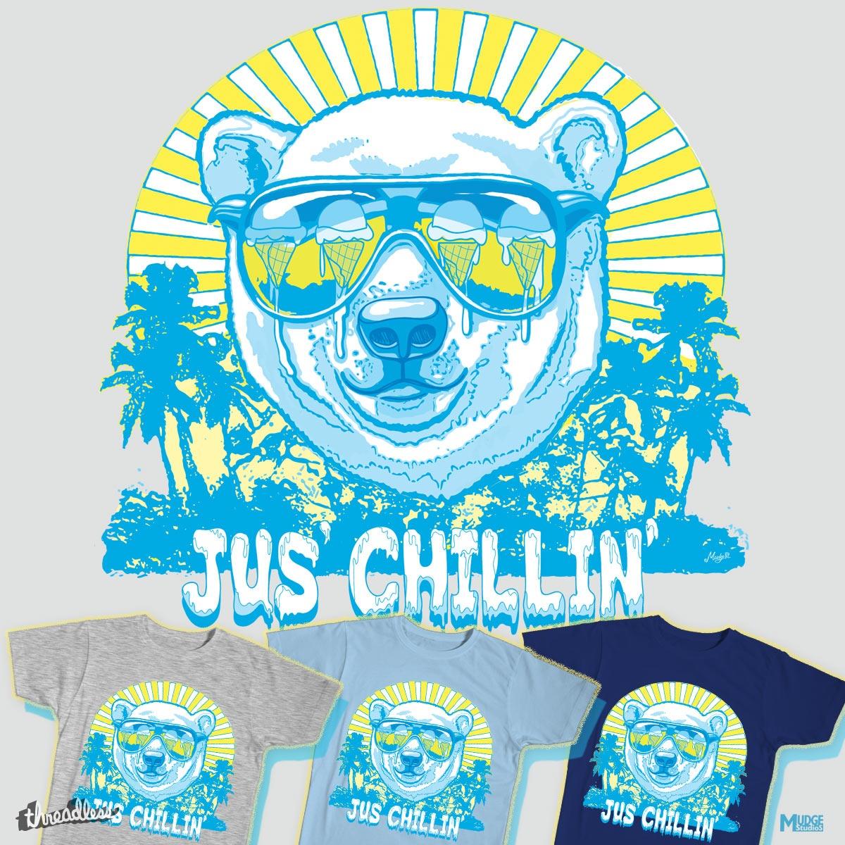 Bear Jus' Chillin' by MudgeStudios on Threadless