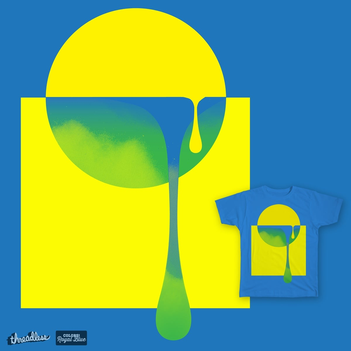 color drip theory by campkatie on Threadless