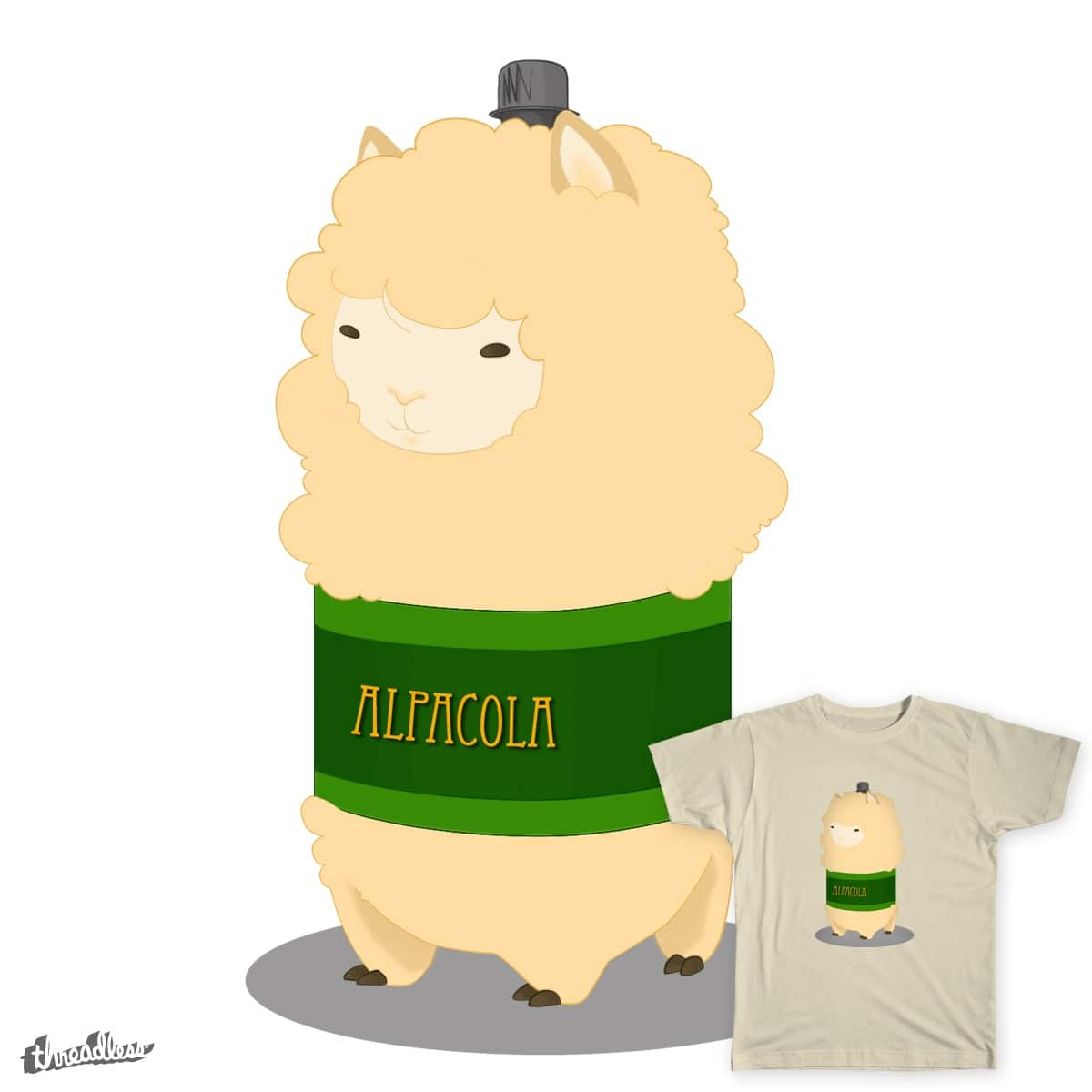 Alpacola by alpacola on Threadless