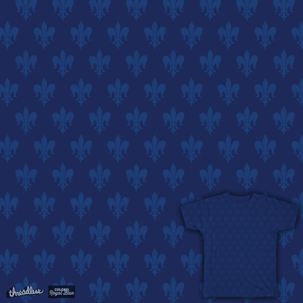Fleur-de-lis by BakusPT on Threadless