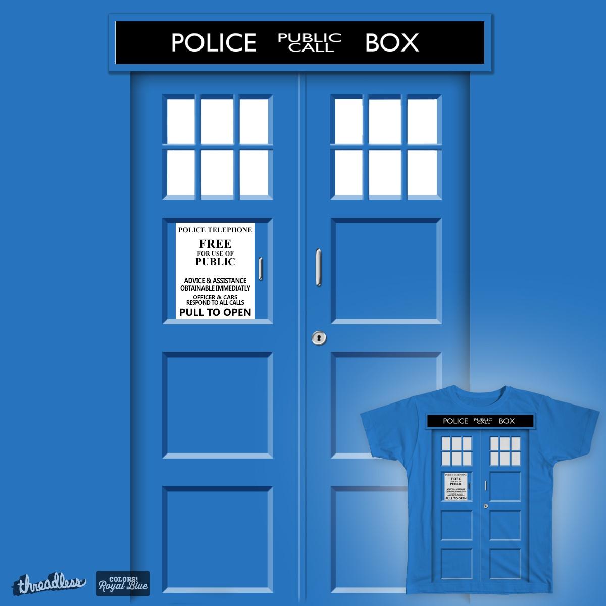 Police Box by JessiLeigh on Threadless