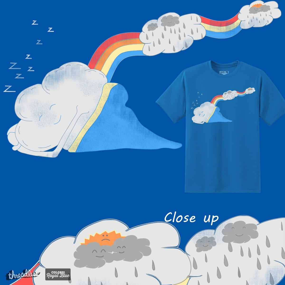 Sweet sweet dreams by pourhippie on Threadless