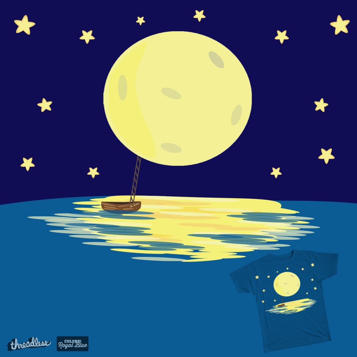 To La Luna  by allison.valenzuela on Threadless