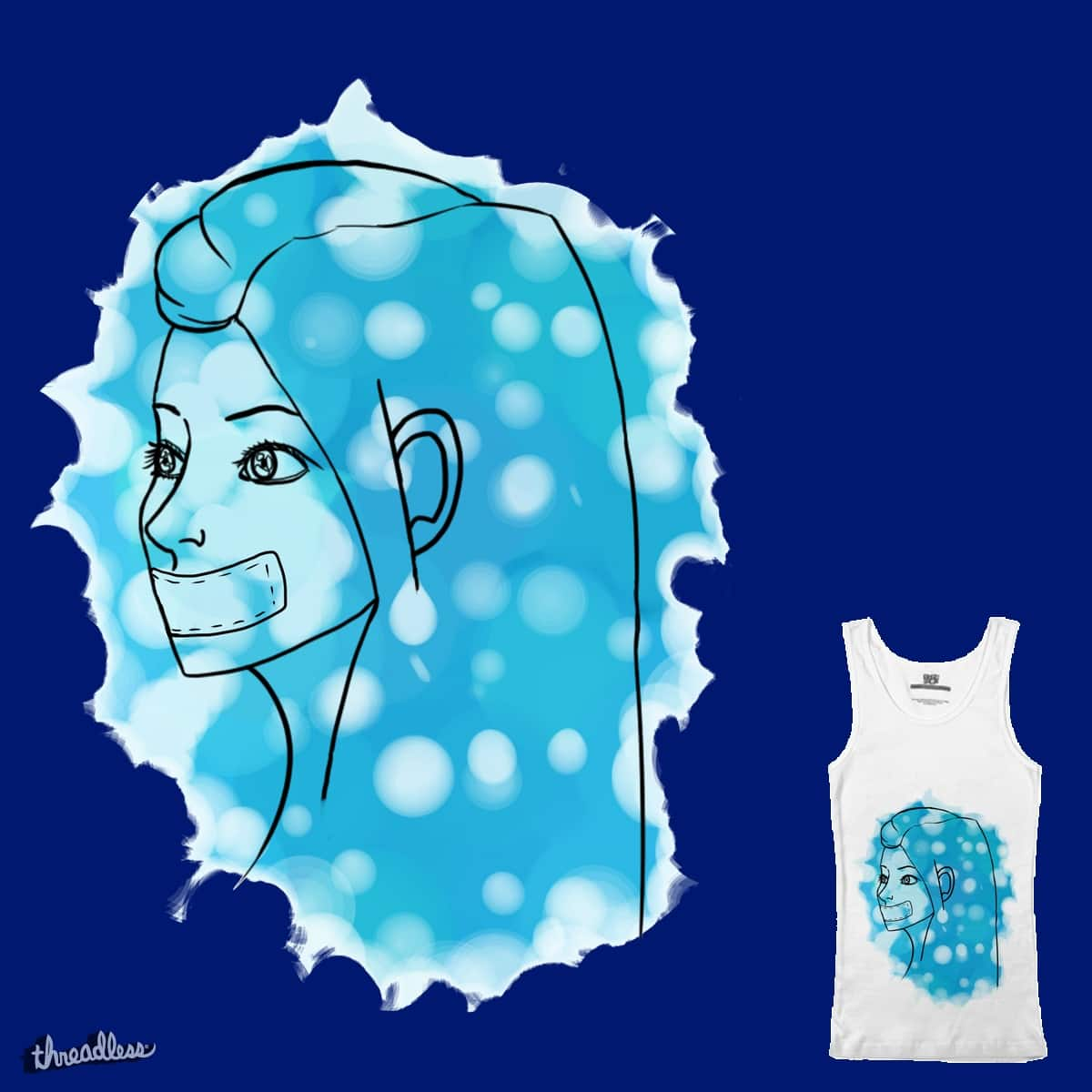 Blue by Cosartmic on Threadless
