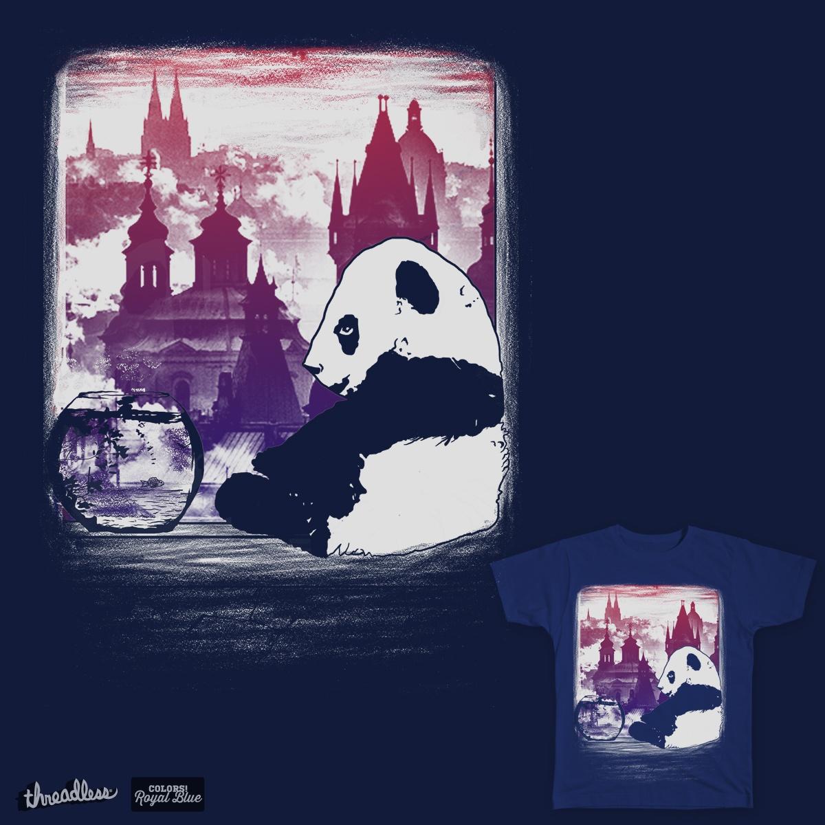 moodless panda by gupikus on Threadless