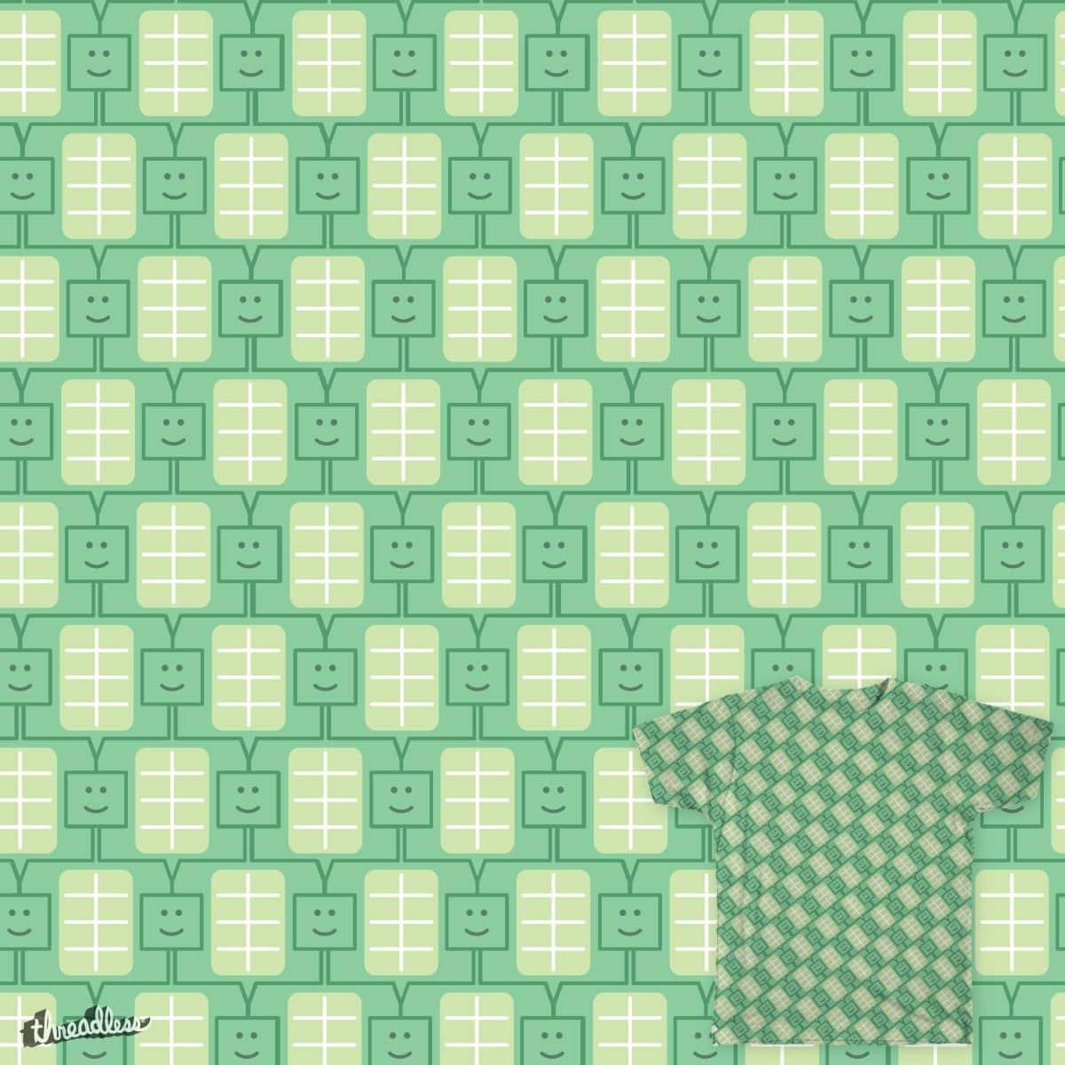 Tessellated Turtles by ariff.munshi on Threadless