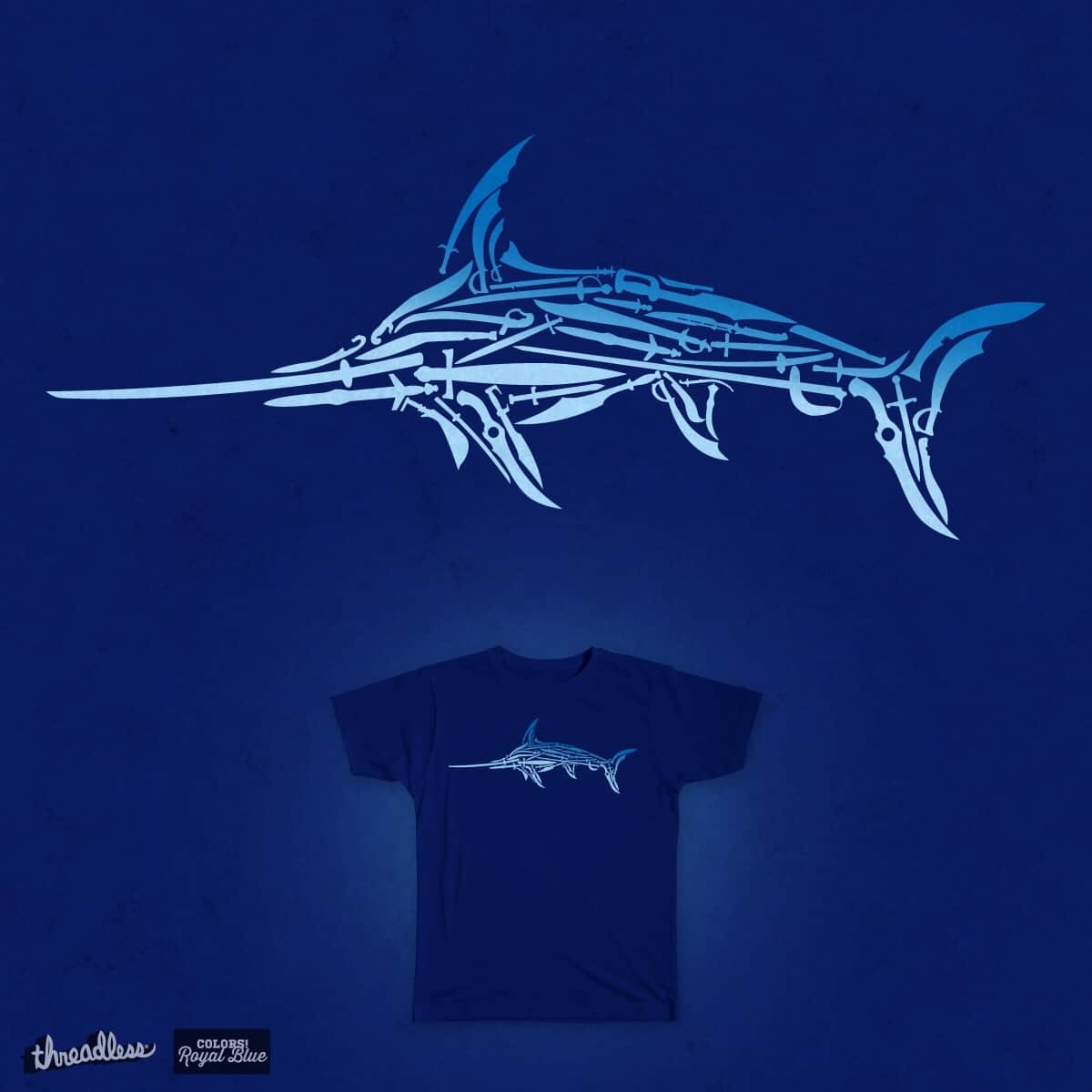The pen is mightier than the swordfish by daless25 on Threadless