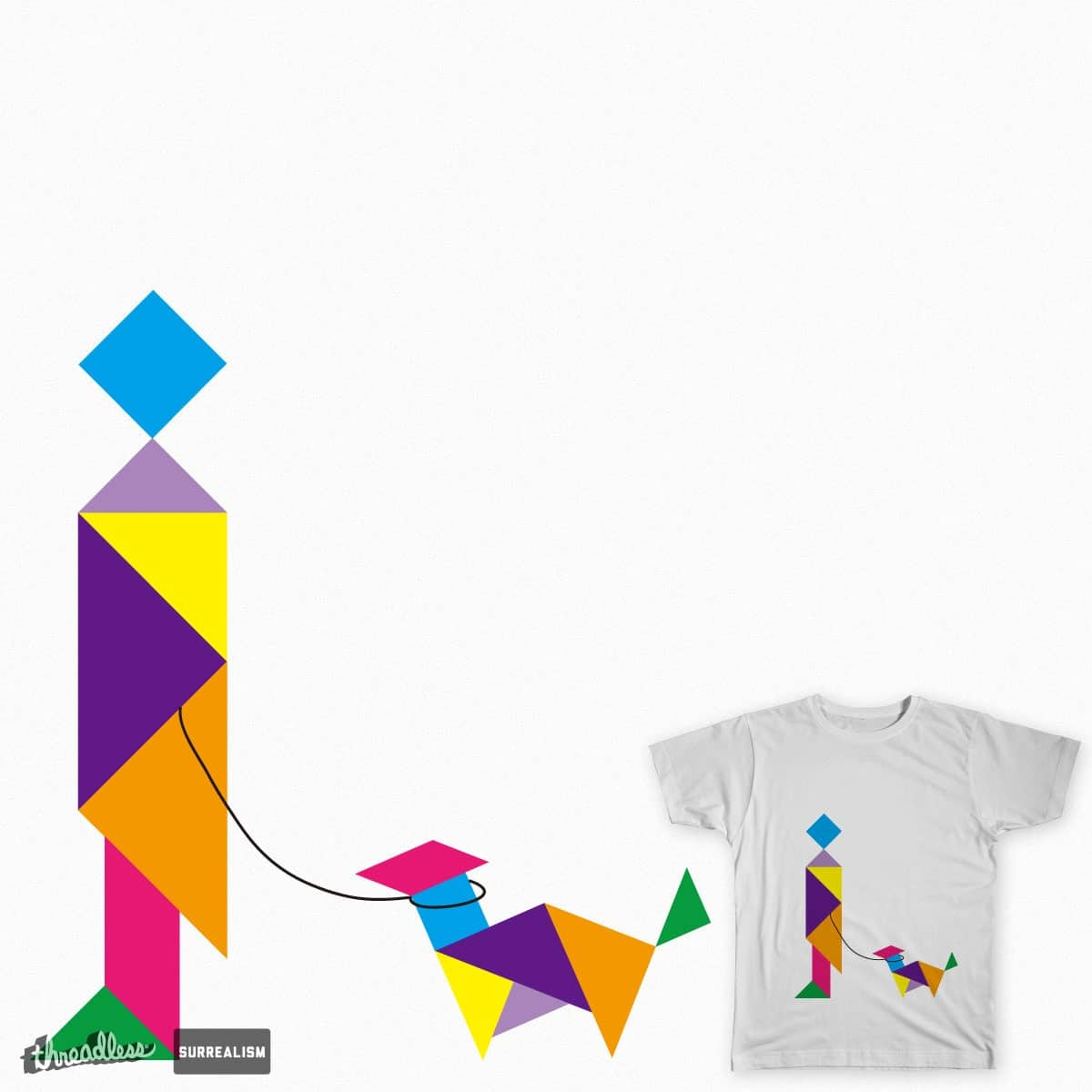 Tangram by hky082002 on Threadless