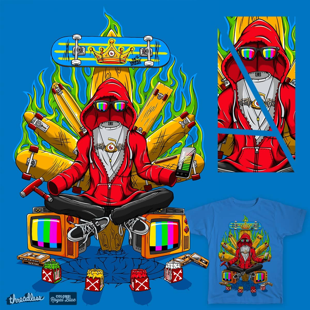 The King by THE.KAMPER on Threadless