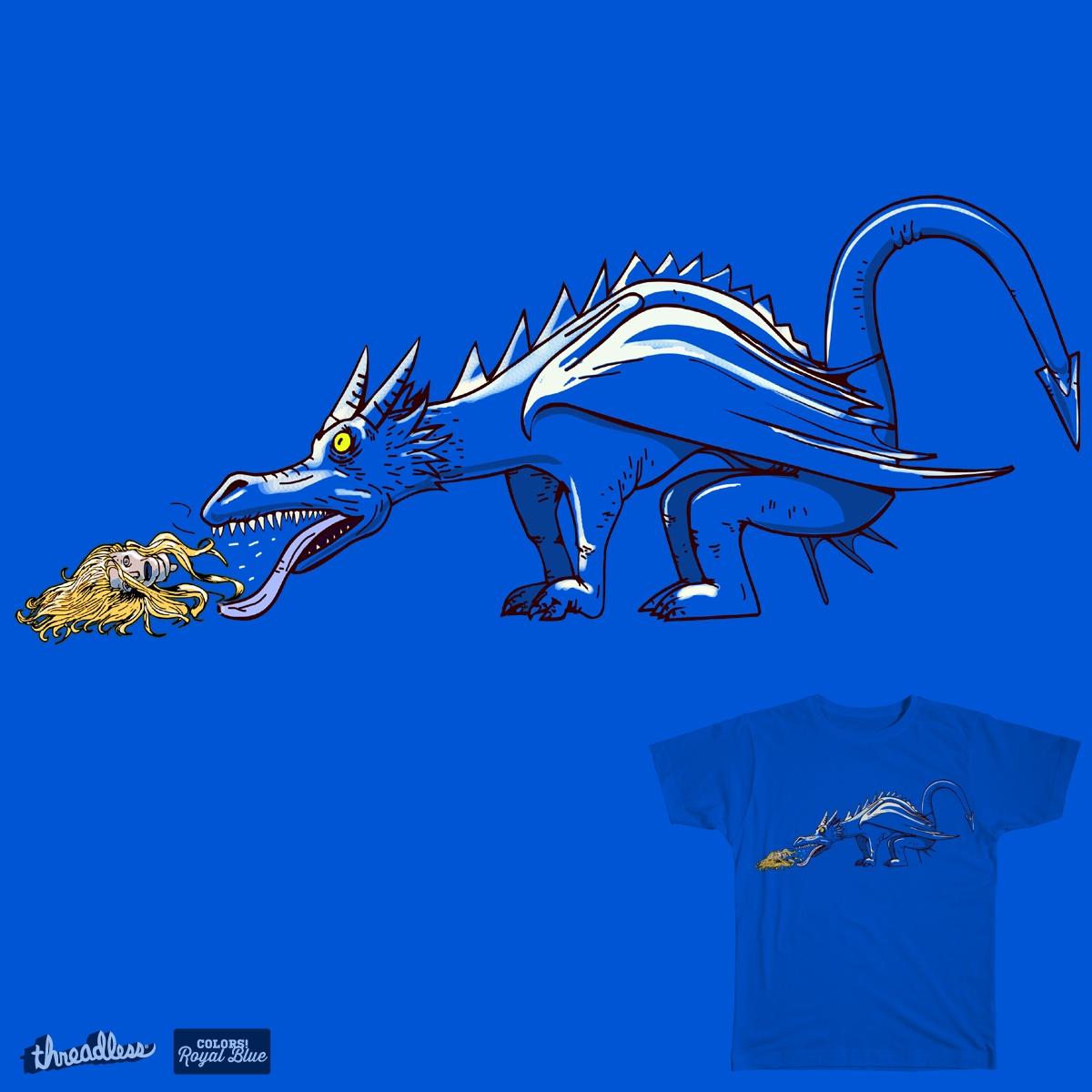 Dragon Hairball Z by weoos_02 on Threadless