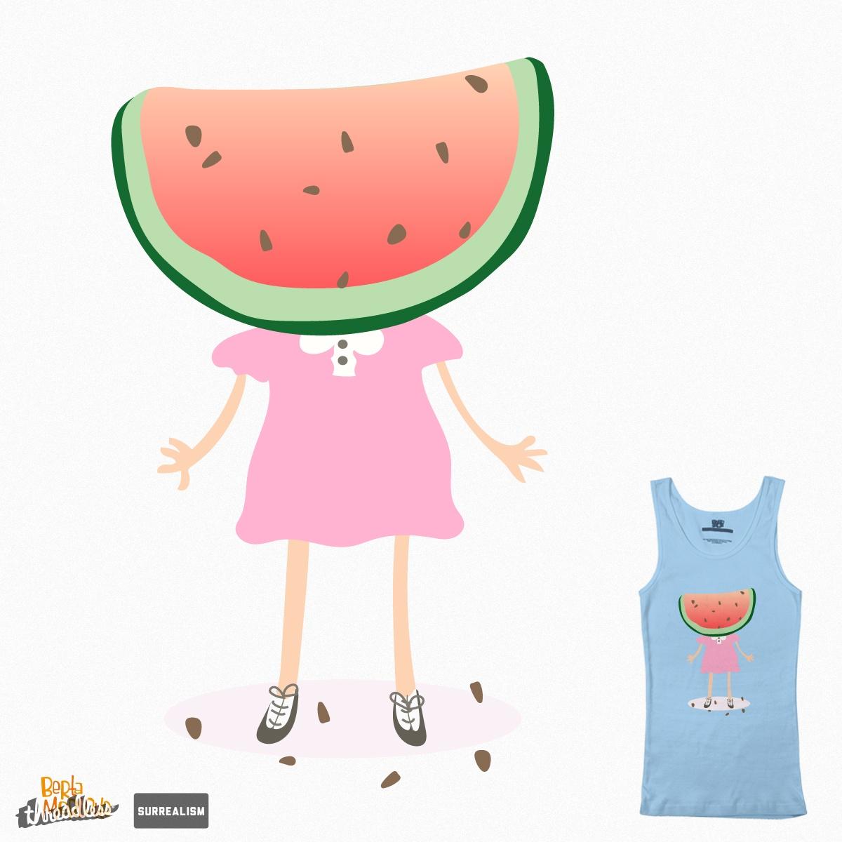 Sandy Watermelon by BertaMerlotte on Threadless