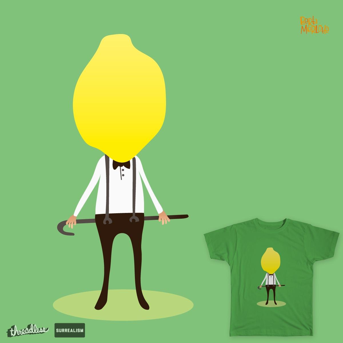 Lenny Lemon by BertaMerlotte on Threadless