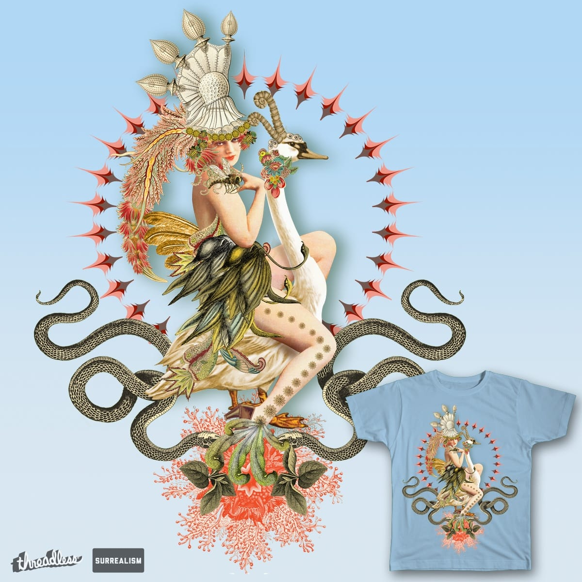 The Queen by Zoveck on Threadless