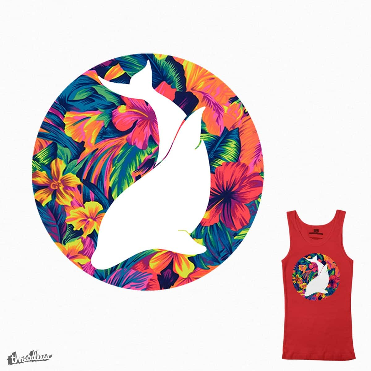 Tropical Dolphin by SBispo on Threadless