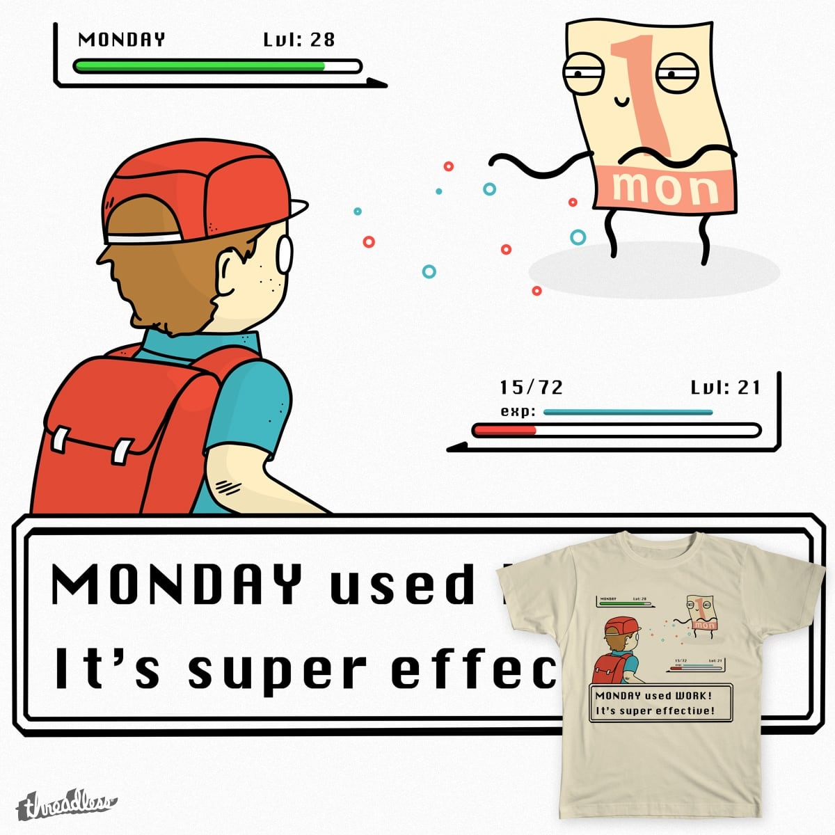 Monday used Work! by jack.nz on Threadless