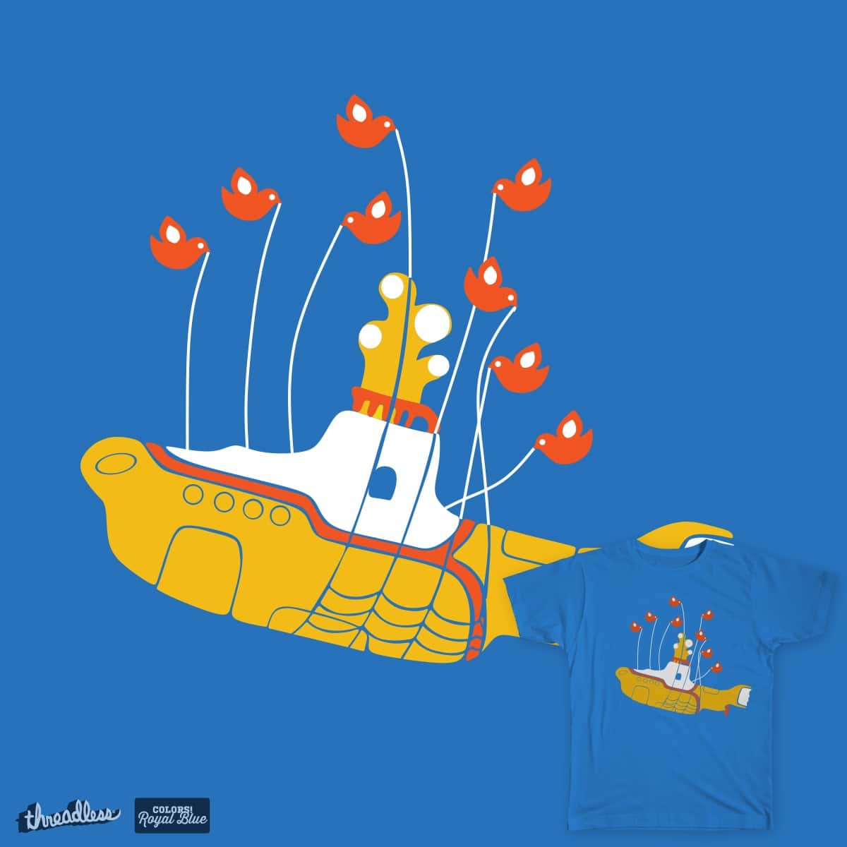 Submarine Capacity is Overloaded by voraxine on Threadless