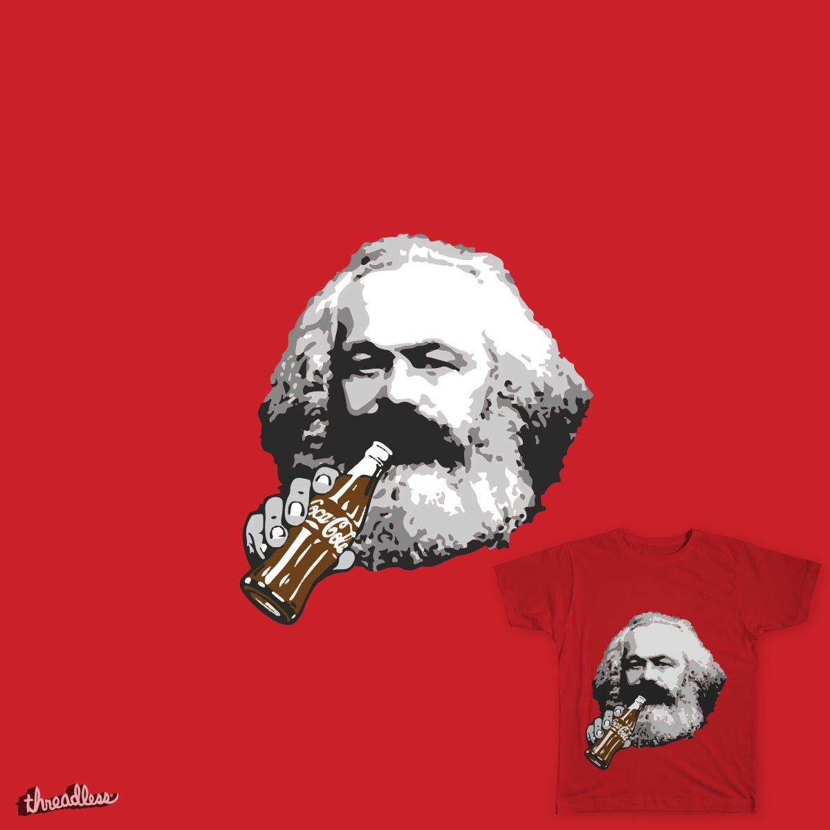 Capitalist Marx by ArmellinoDesign on Threadless