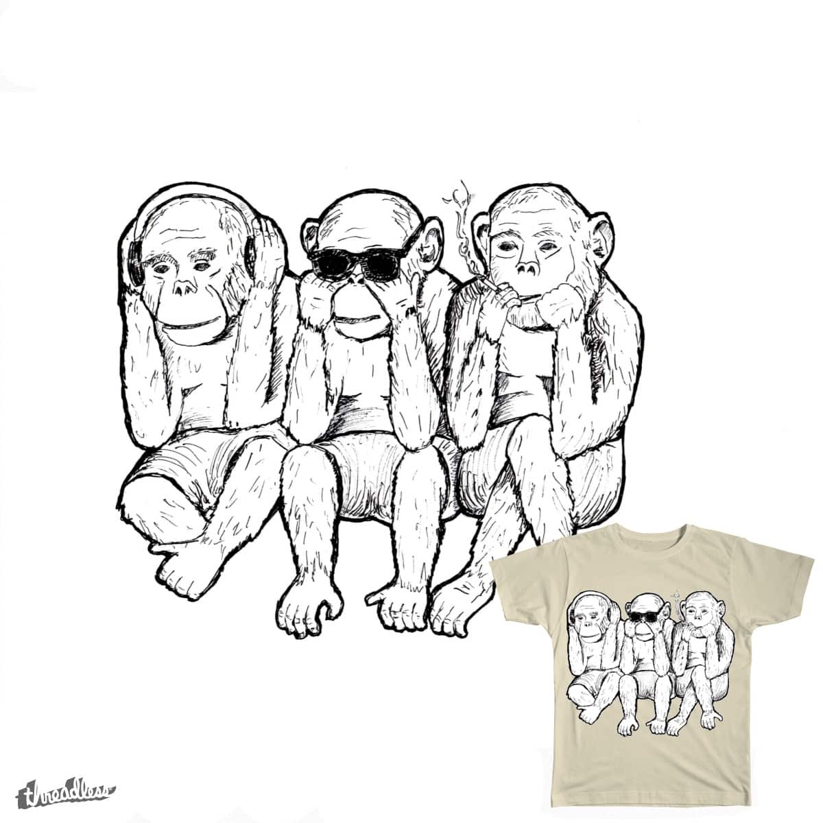 Hear No Evil by AaronSkye on Threadless
