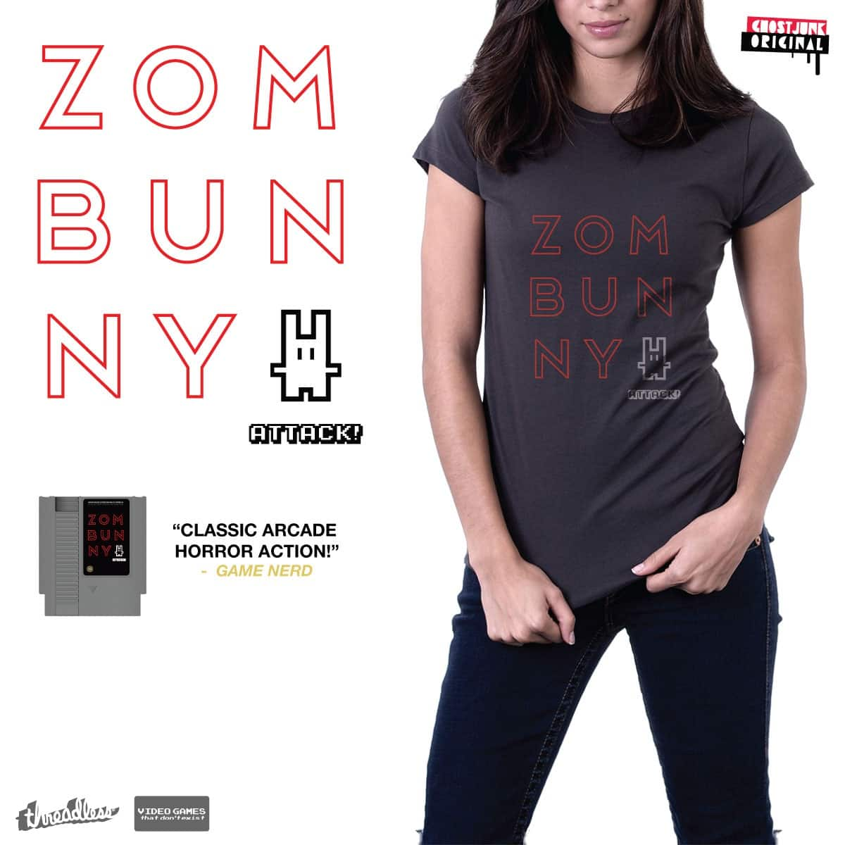 ZOMBUNNY ATTACK! by ghostjunk on Threadless