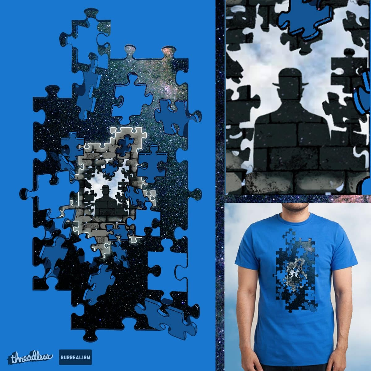 BEHIND MYSTERIOUS PUZZLE by Al-Bryan on Threadless