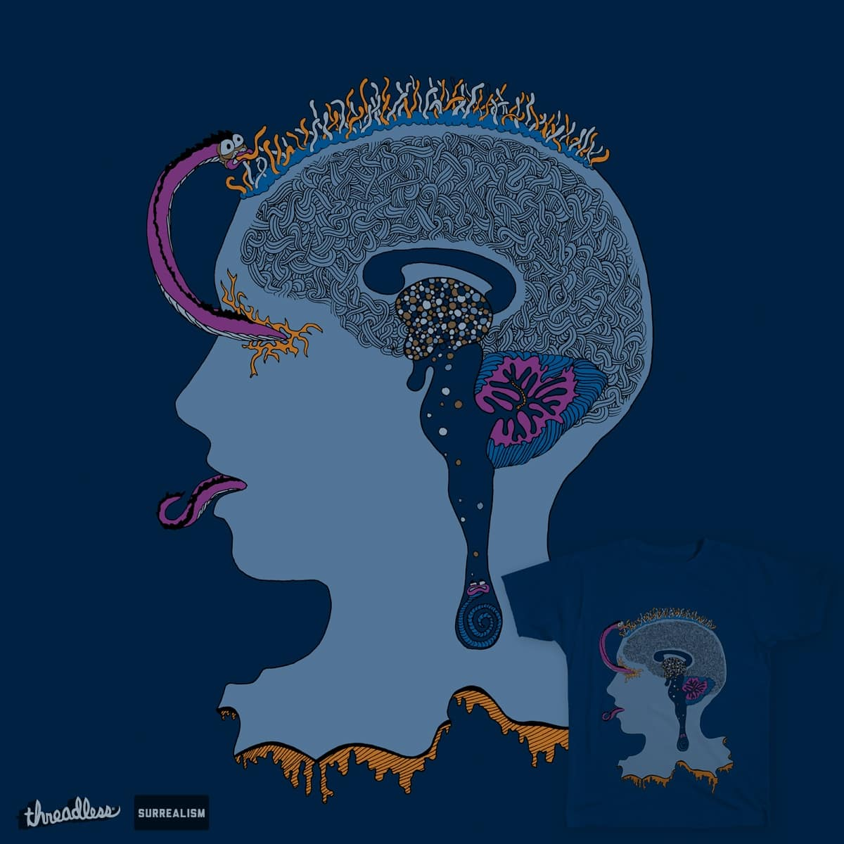 Infection of the mind by Lizberries on Threadless