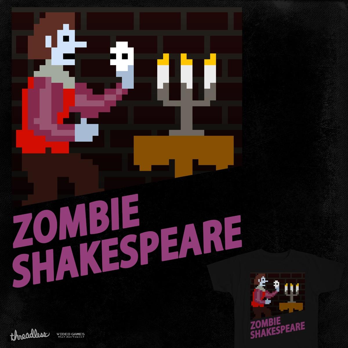 Zombie Shakespeare by mattographer on Threadless