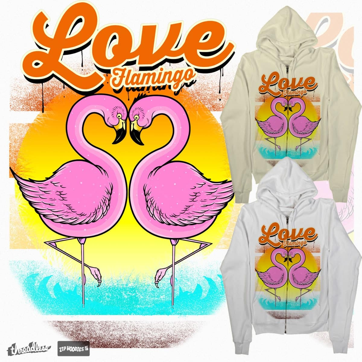 love flamingo by kikicradlecats on Threadless