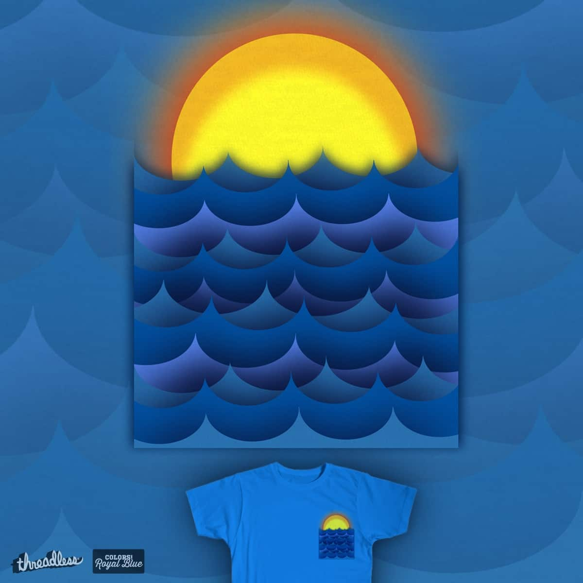 Summer Pocket by ArTrOcItY on Threadless