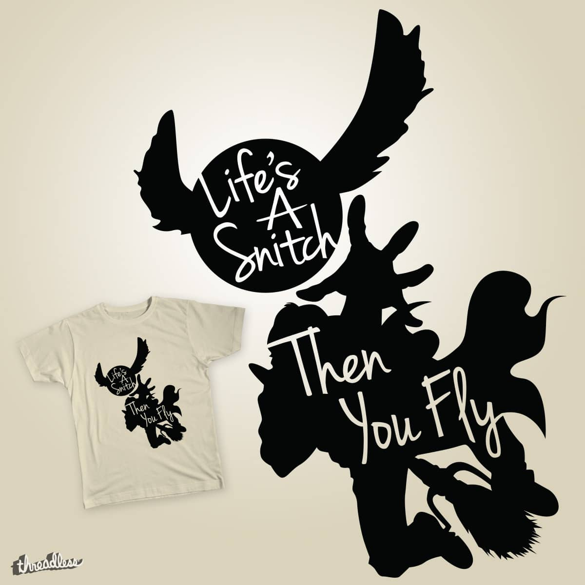 Life's a Snitch by SGMurphy on Threadless